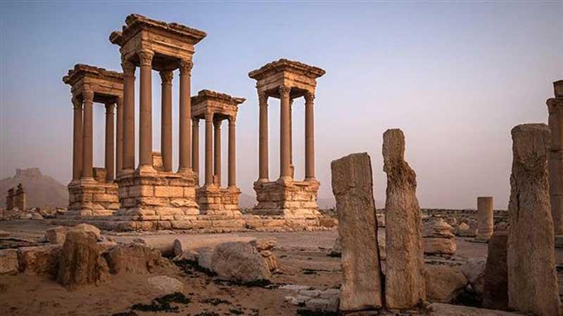 شهر باستانی پالمیرا در کجاست