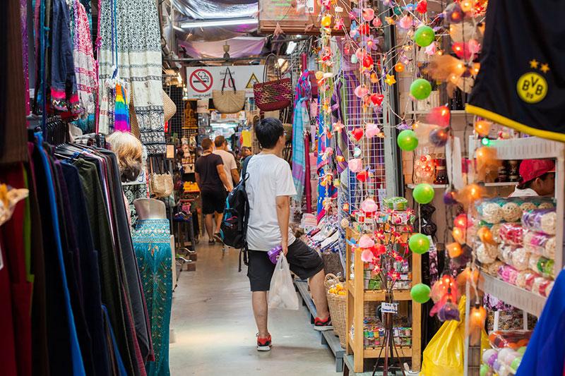 بازارهای آخر هفته تایلند، بازار چاتوچاک در بانکوک