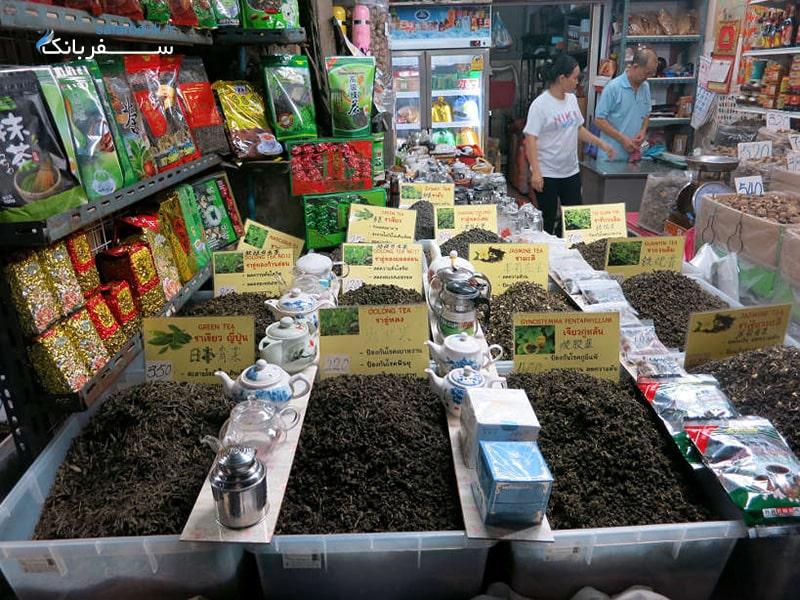 مرکز خرید محله چینی ها در بانکوک، مراکز خرید بانکوک تایلند