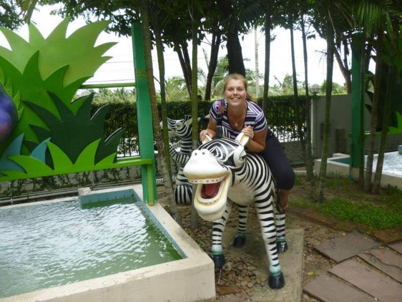 باغی برای سلفی باز ها در دریم لند بانکوک در تایلند