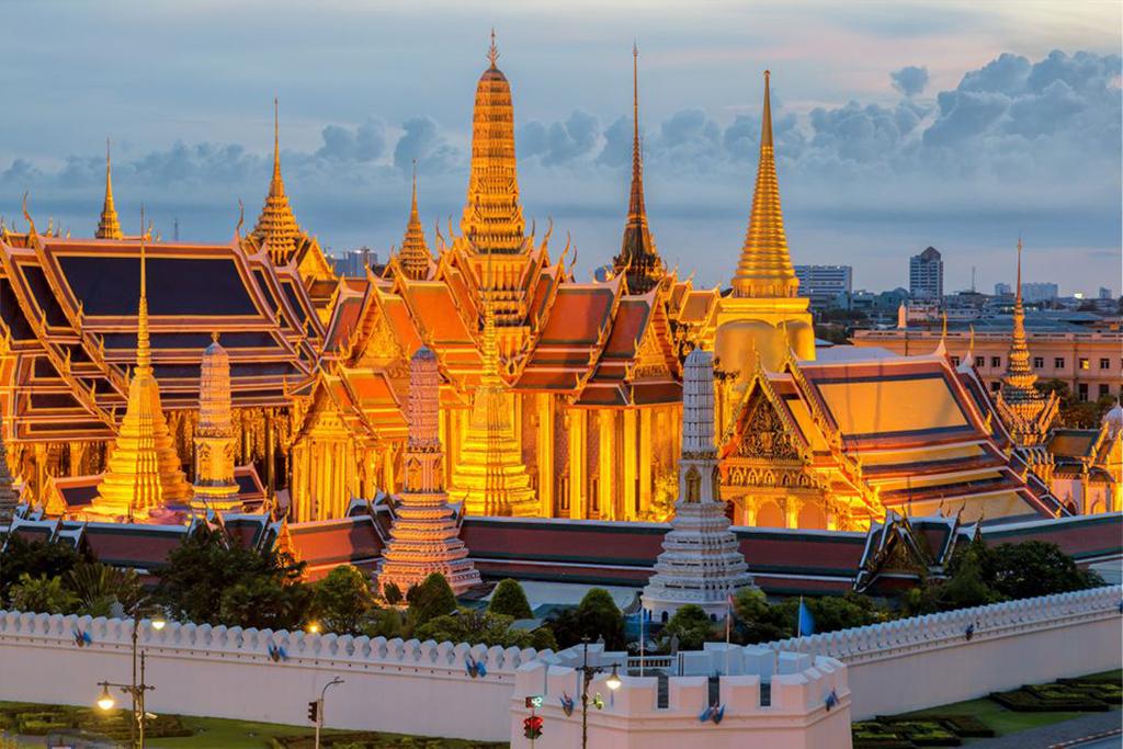 کاخ بزرگ یا کاخ پادشاهی بانکوکاز جاهای دیدنی تایلند