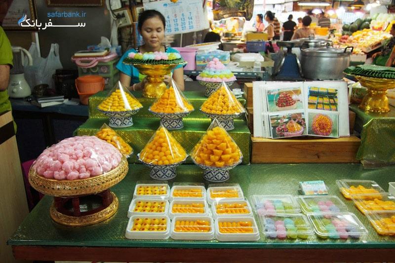 بهترین بازارهای تایلند، بازار مواد غذایی اور تور کور در بانکوک