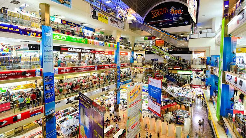 مرکز خرید پانتیپ پلازا مرکز فروش لوازم الکترونیک در بانکوک تایلند