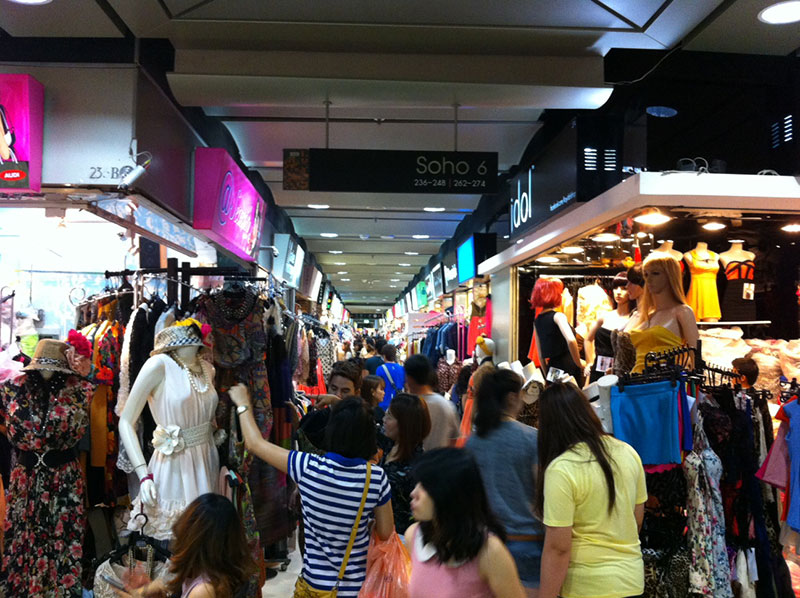 مرکز خرید پلاتینیوم برای خرید کالاهای مد و فشن در تایلند