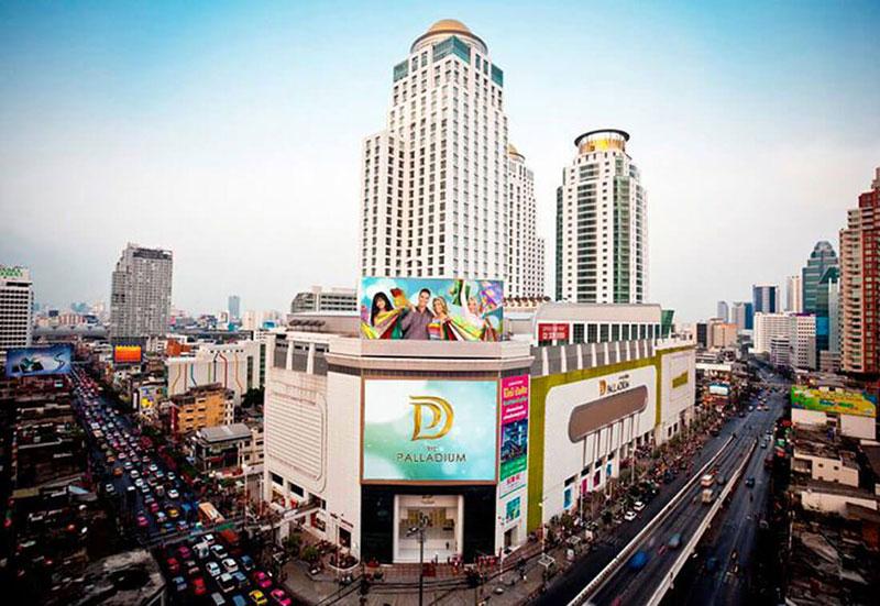 مرکز خرید جهانی پالادیوم در بانکوک تایلند