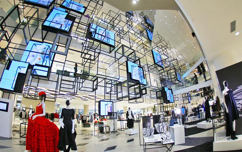 مرکز خرید تایلند، مرکز خرید سیام دیسکاوری در بانکوک