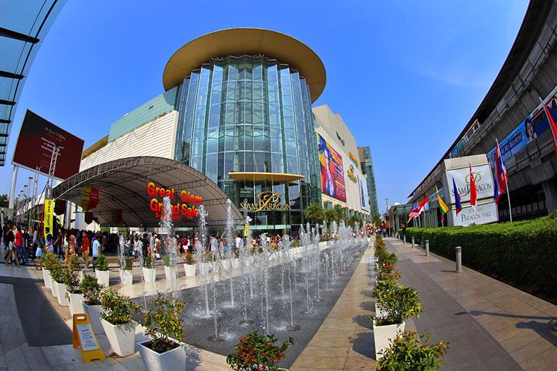 مرکز خرید سیام پاراگون در بانکوک تایلند