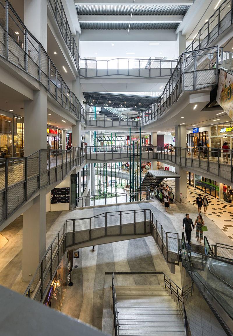 مرکز خرید سیام اسکوئر وان در بانکوک تایلند