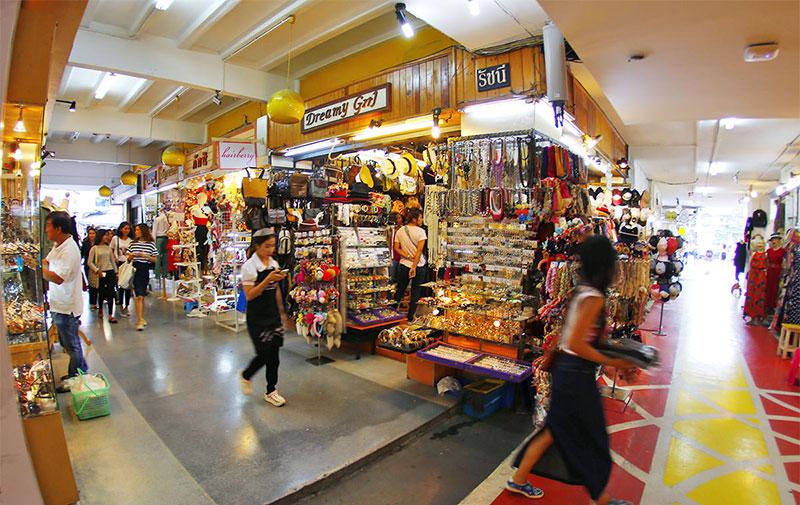 مراکز خرید سیام اسکوئر وان در شهر بانکوک تایلند