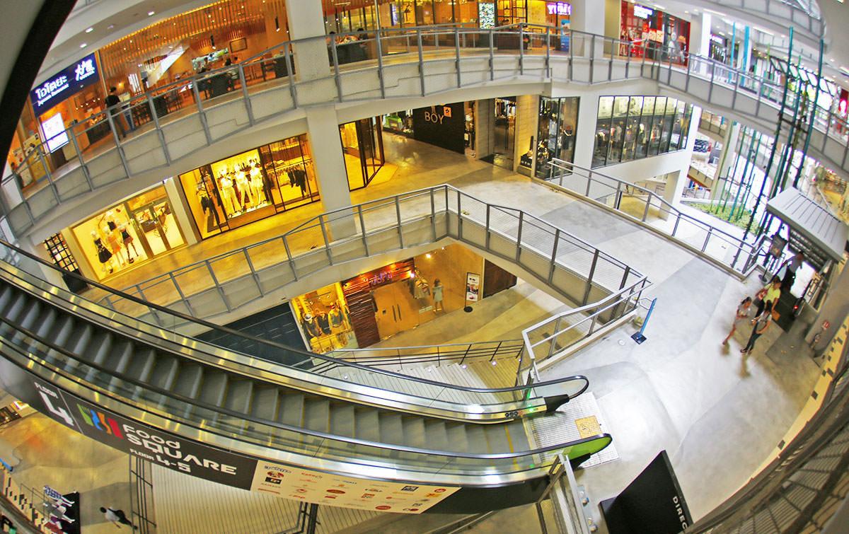 مراکز خرید تایلند، مراکز خرید سیام اسکوئر در بانکوک