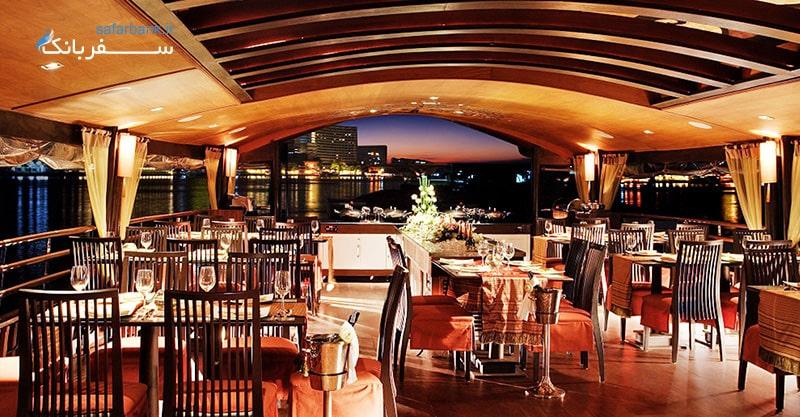 بهترین شام کروزهای بانکوک تایلند، آپسارا کروز