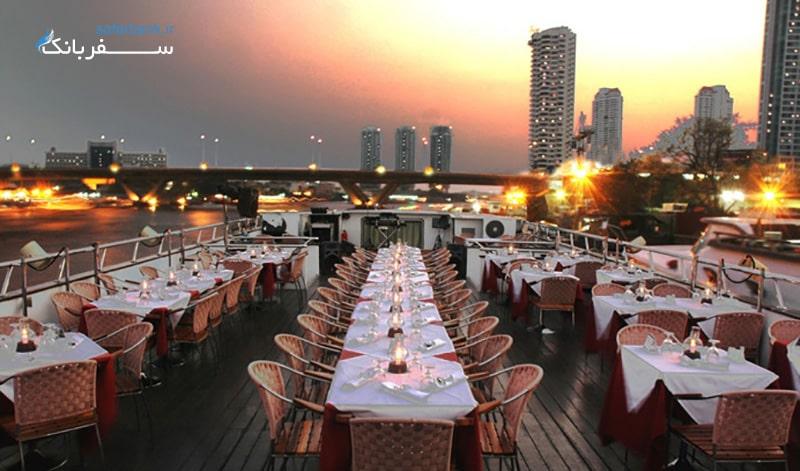 بهترین شام کروزهای بانکوک تایلند، لوی ناوا