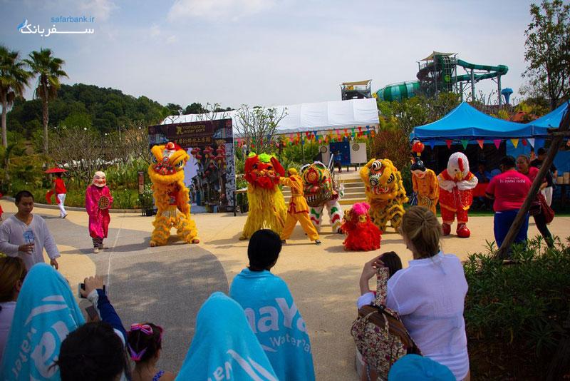پارک آبی رامایانا در پاتایا تایلند