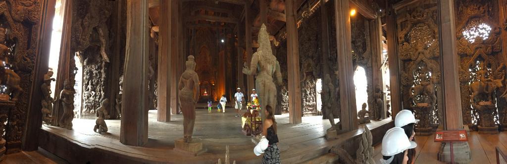 بهترین معابد پاتایا، معبد سانچری آو ترو یا پراسات سوت جا توم