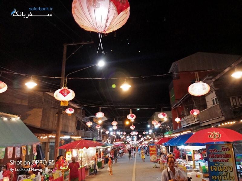 بازار چاکن گیو در پاتایا بازار محله قدیمی چینی ها