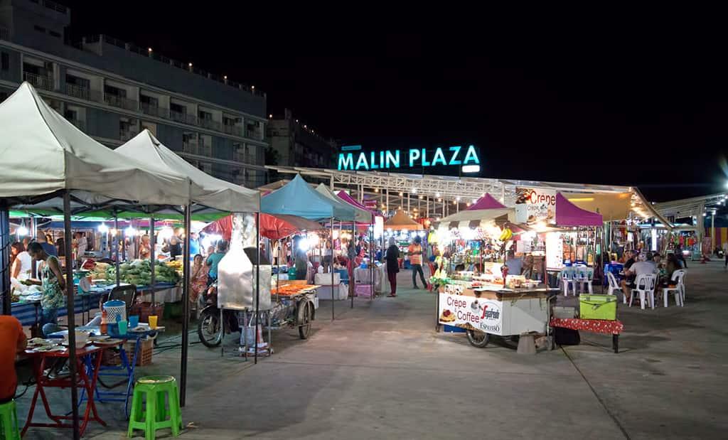 مالین پلازا، بازار خرید در پوکت تایلند
