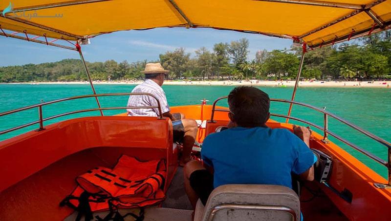 ساحل لائم سینگ در پوکت تایلند
