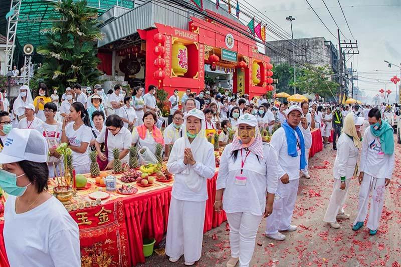 فستیوال گیاه خواری در تایلند، پوکت