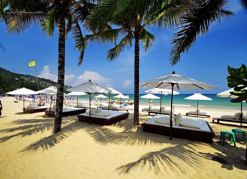 ساحل کامالا د پوکت تایلند