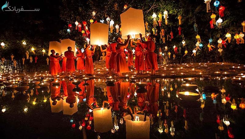 فستیوال لوی کراتونگ در پوکت