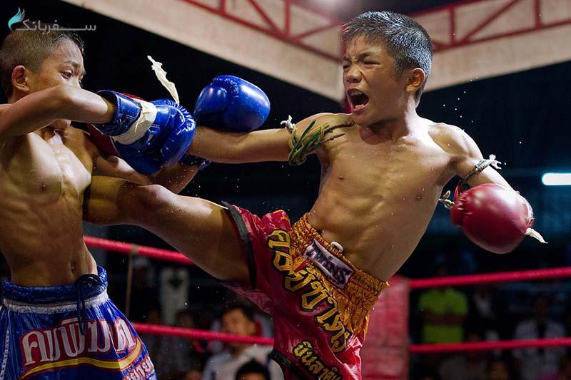 مسابقه ی بوکس تایلند