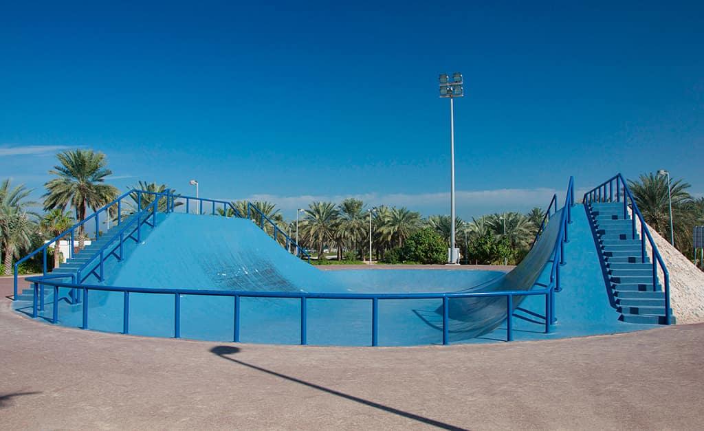 تور دبی، پارک ساحلی الممزر در امارات متحده عربی