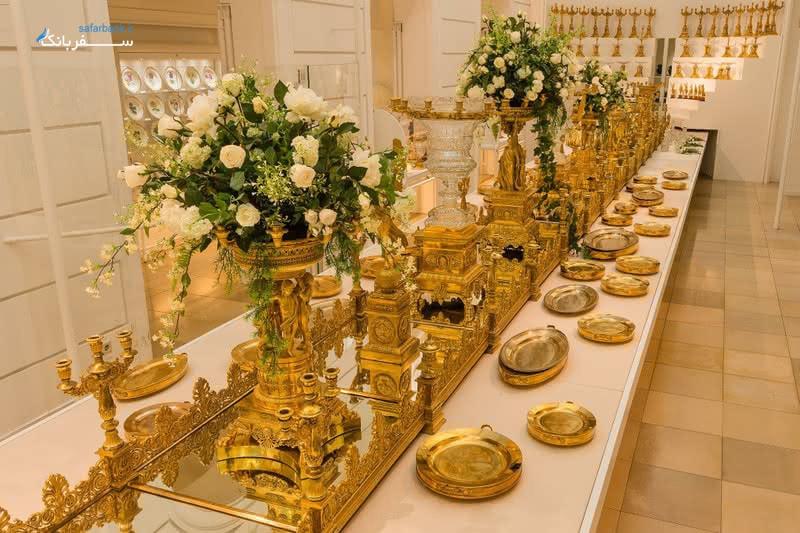 کلکسیون نقره سلطنتی در کاخ هافبورگ وین