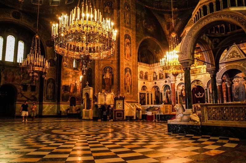 دیدنی های کلیسای جامع صوفیا