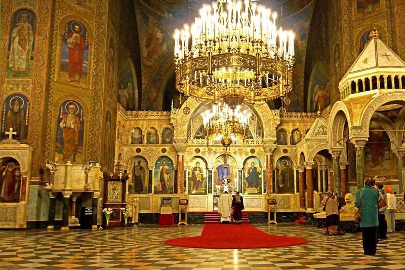 کلیسای جامع در پایتخت بلغارستان