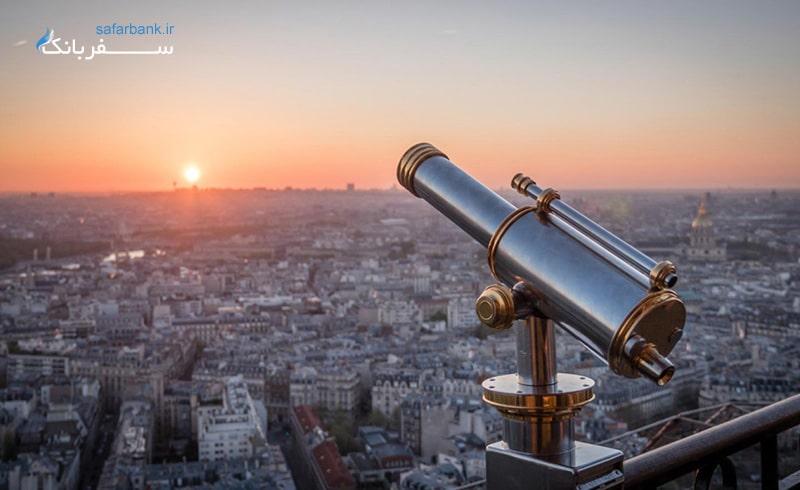 آزمایشگاه های علمی در برج ایفل فرانسه