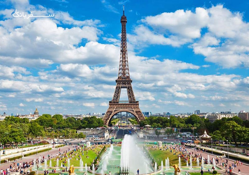 عکس برج ایفل فرانسه