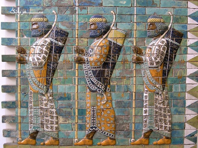 موزه لوور پاریس قسمت ایران