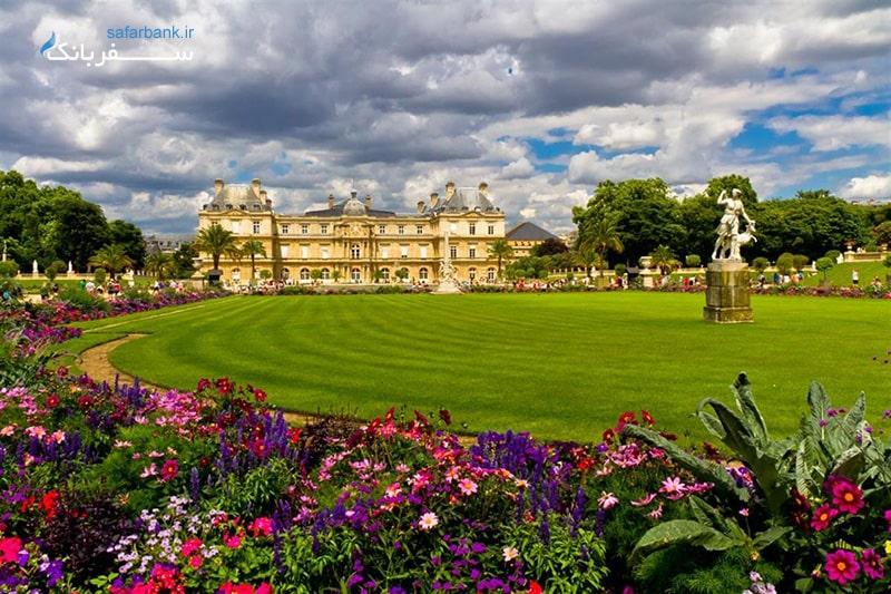 باغ لوکزامبورگ پاریس از دیدنی های پاریس