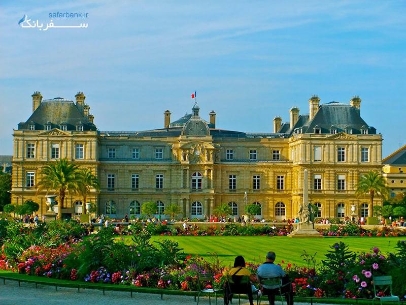 باغ لوکزامبورگ از جاذبه های گردشگری پاریس