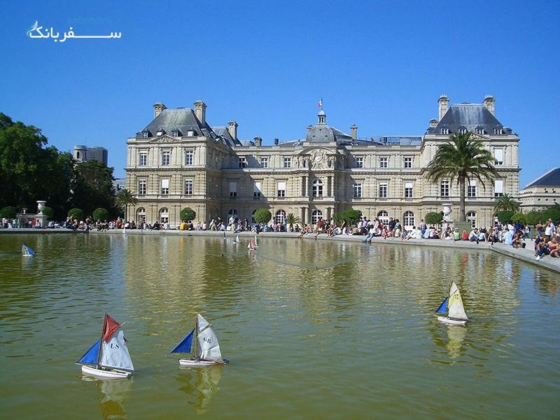 باغ لوکزامبورگ پاریس از جاذبه های گردشگری پاریس