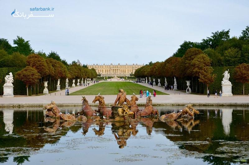 باغ های کاخ ورسای از جادبه های دیدنی پاریس