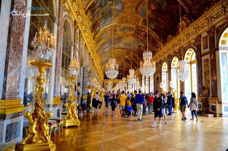 کاخ ورسای از جاهای دیدنی کاخ ورسای در پاریس فرانسه