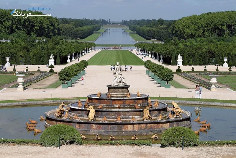 باغ های کاخ ورسای در پاریس