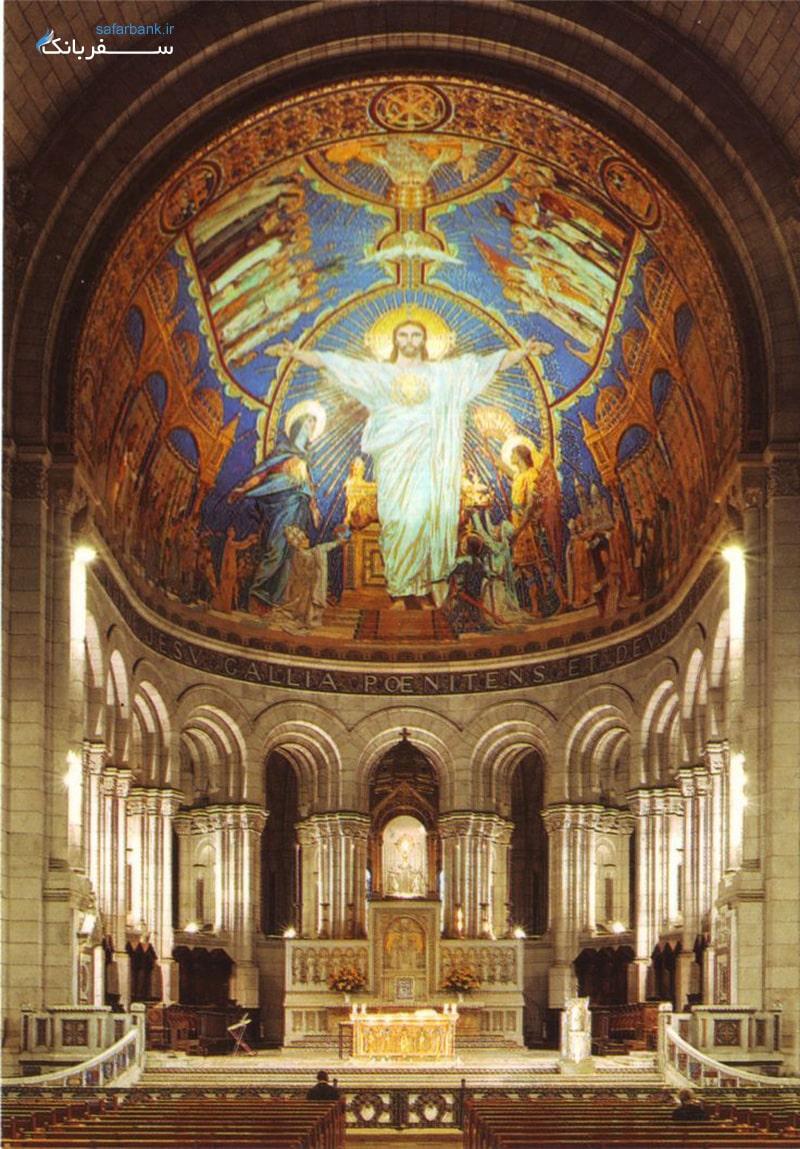 کلیسای قلب مقدس در شهر پاریس