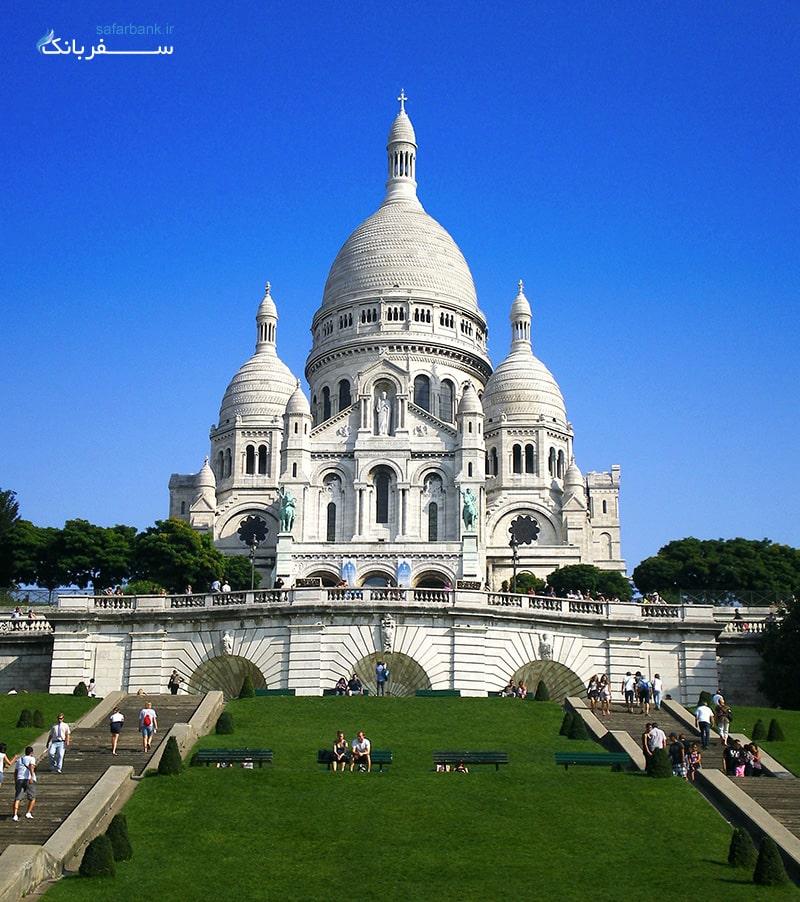 کلیسای قلب مقدس پاریس نماد عشق الهی عیسی به انسان