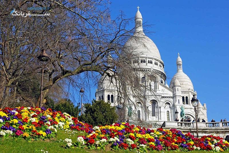 کلیسای سکره کوره در شهر پاریس