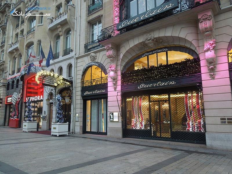 فروشگاه های خیابان شانزه لیزه پاریس