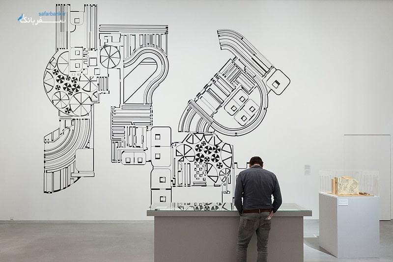 گالری برلینیش در برلین، بخش معماری