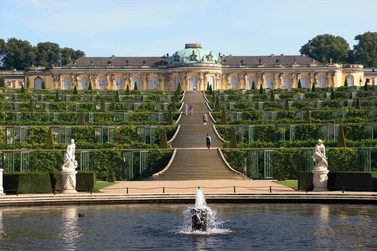 دیدنی های برلین کاخ سان سوسی