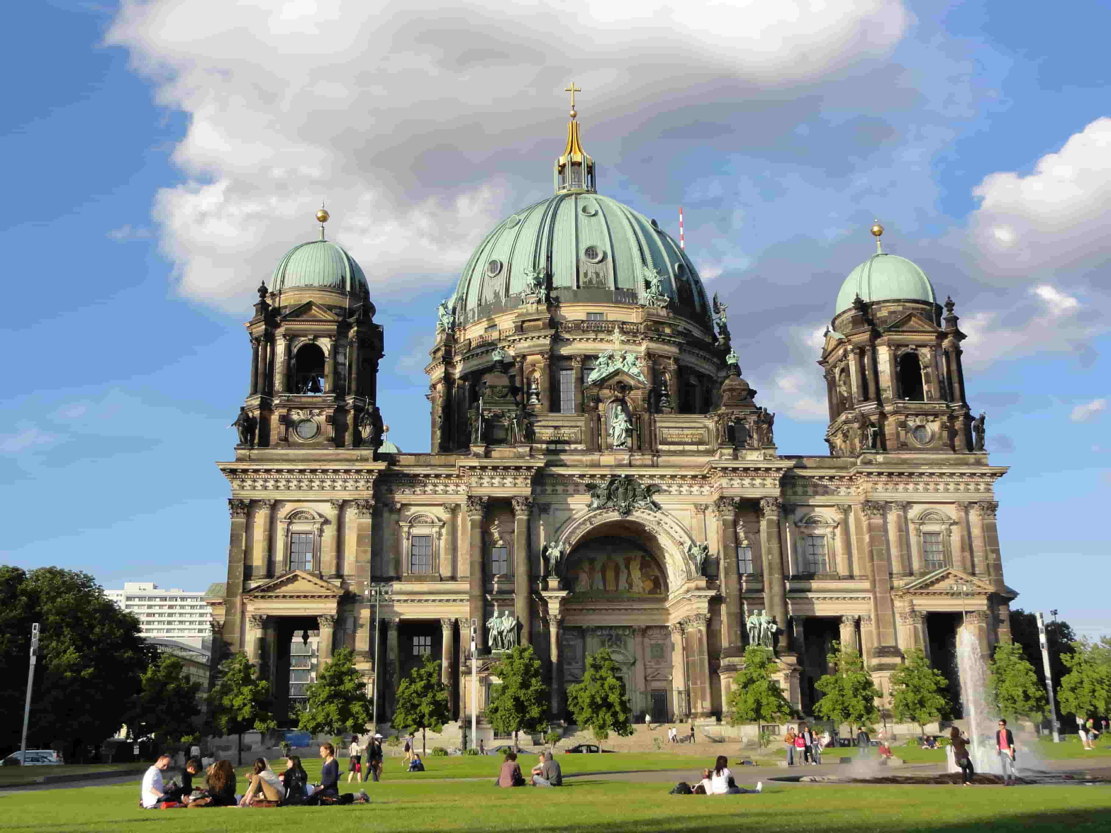 بازدید از کلیسای جامع برلین