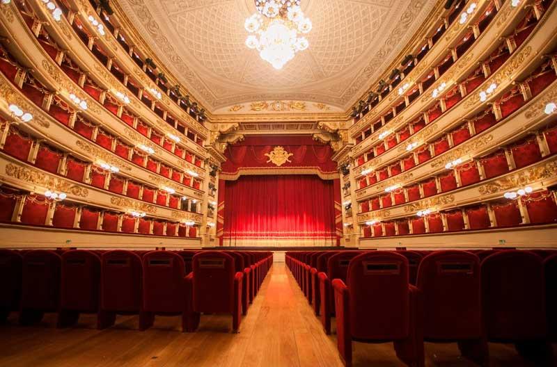 الاسکالا سالن اپرای مشهور