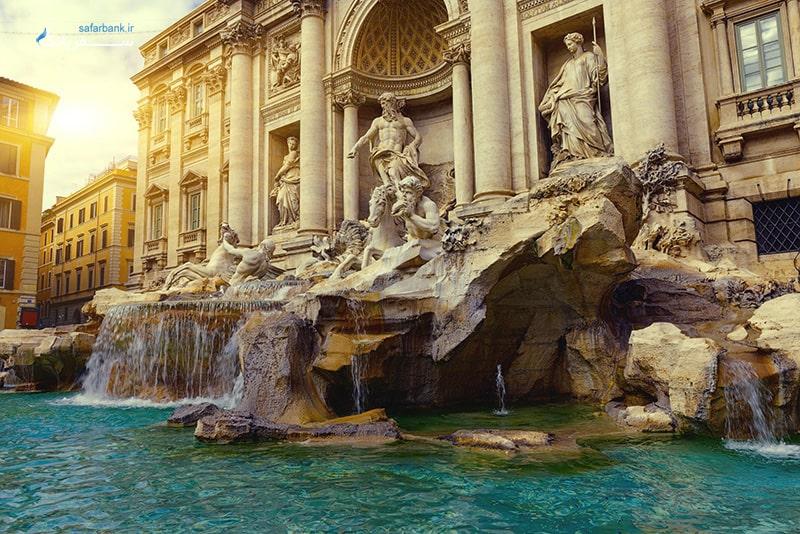عکس فواره تروی ایتالیا