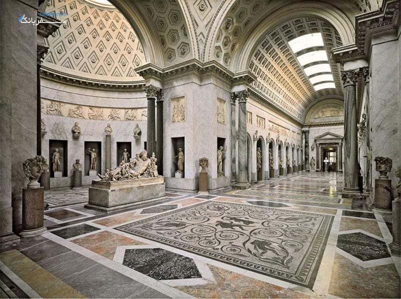 موزه های واتیکان در رم ایتالیا