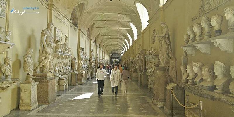 چیارامونتی، از موزه های واتیکان در رم