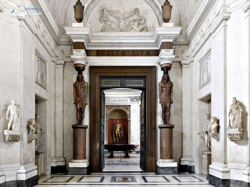 موزه های وانیکان رم، موزه پیو کلمنتینو